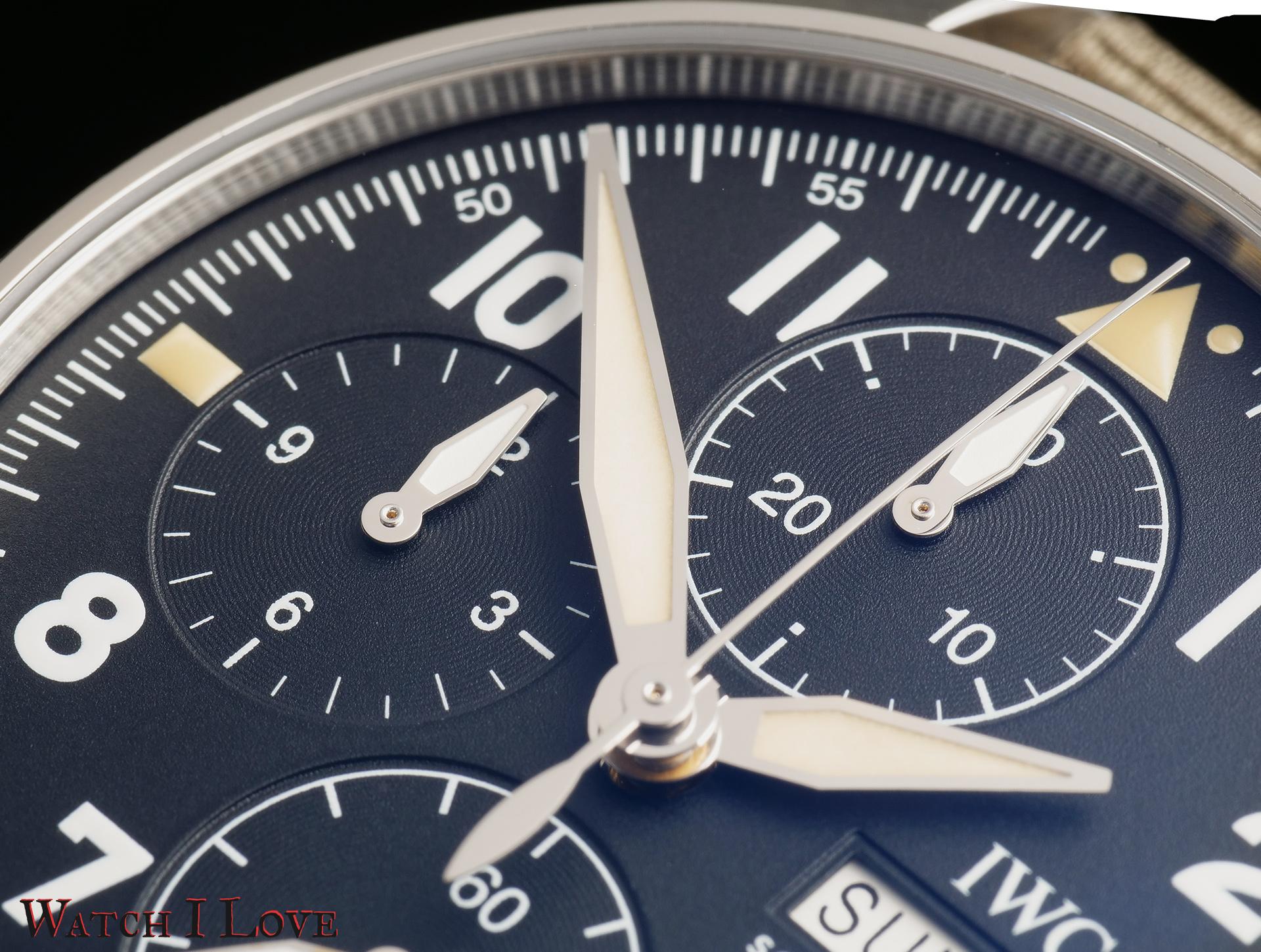 Chrono dials of the Spitfire Chrono