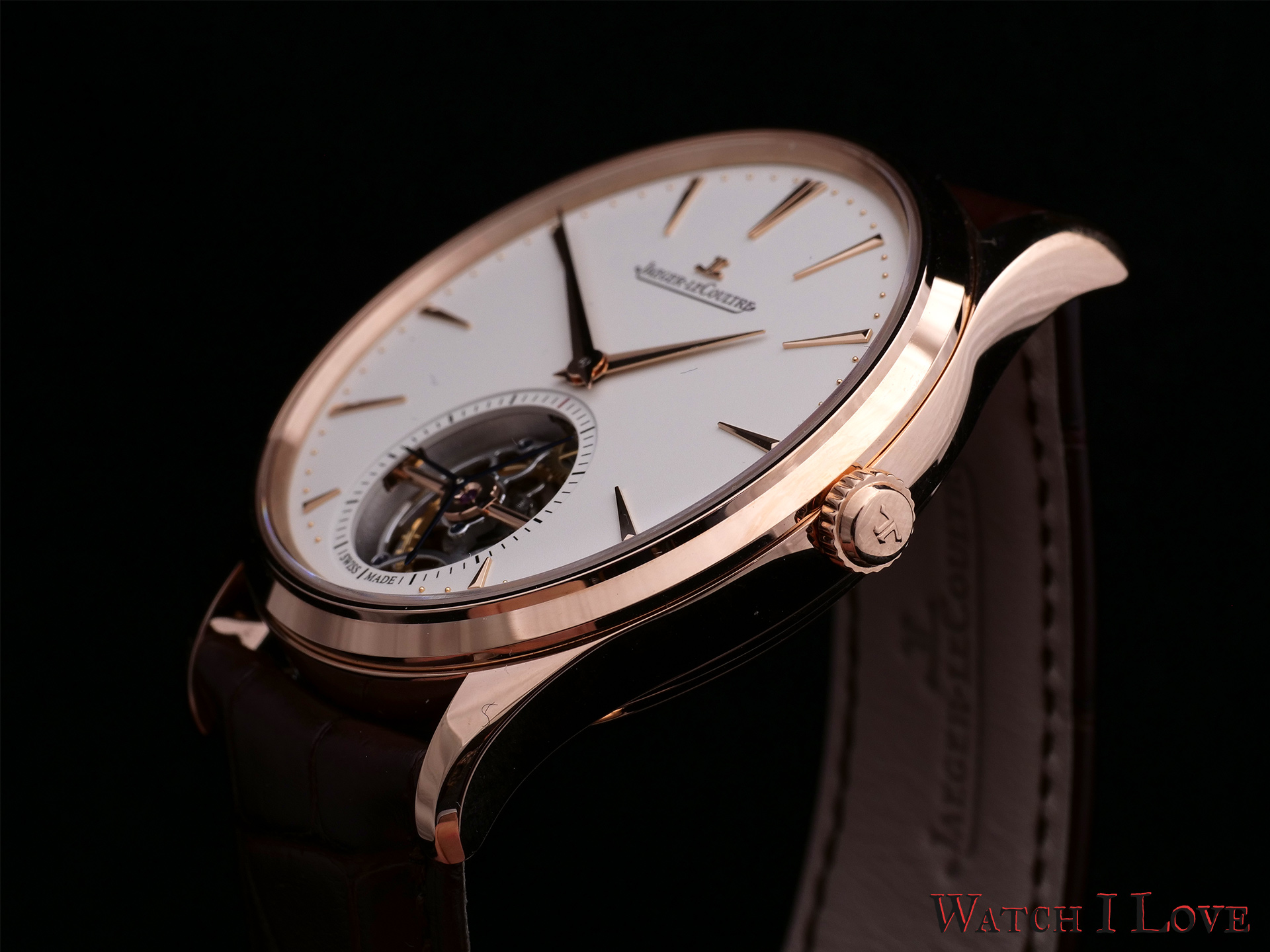 Ultra-Thin Tourbillon case and crown