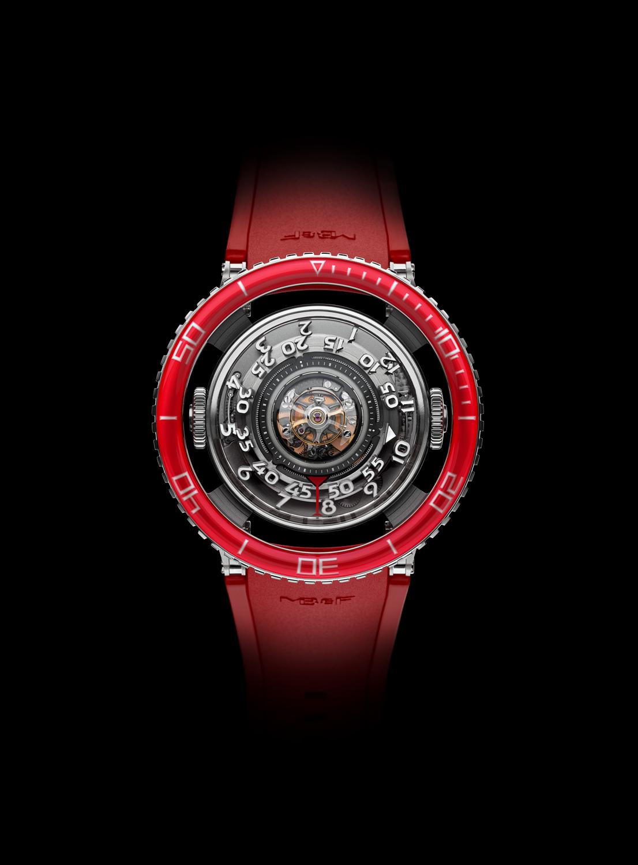 MB&F Horological Machine N°7 Platinum Red