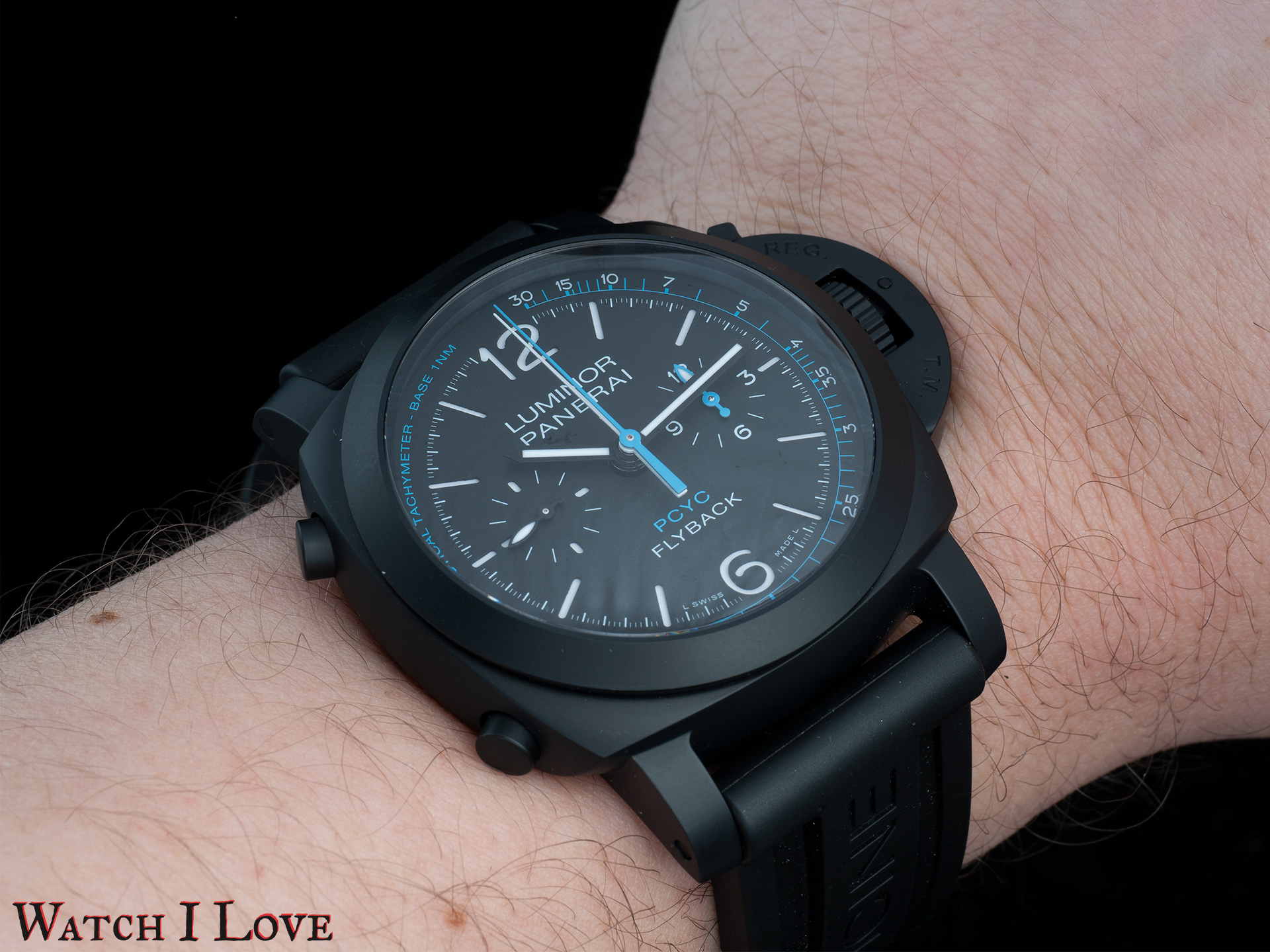 Panerai PAM788 on the wrist