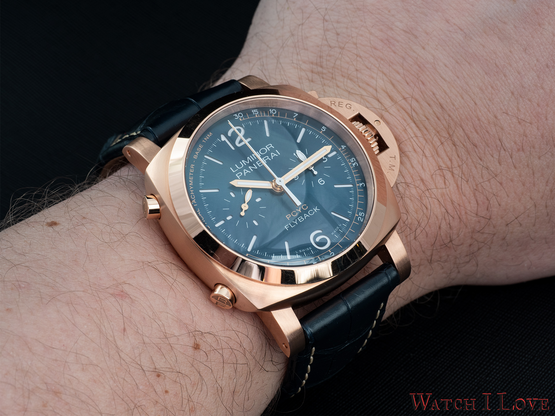 Panerai PAM1020 on the wrist