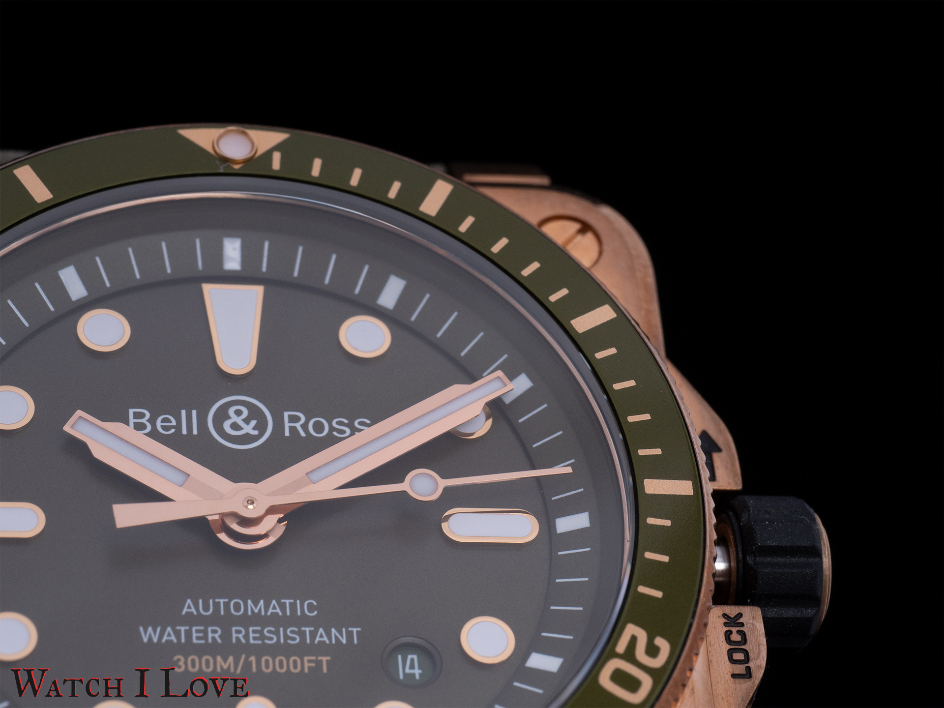 Details of the BR03-92 dial